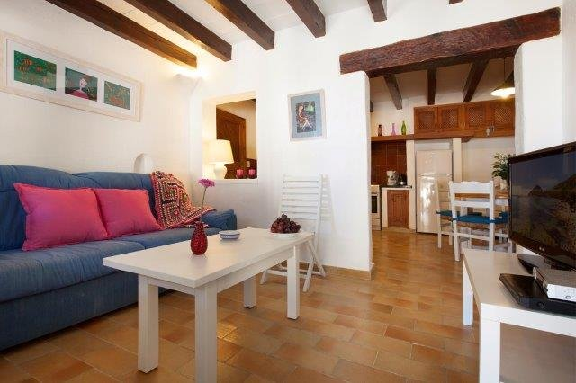 Appartement Barques - woonkamer