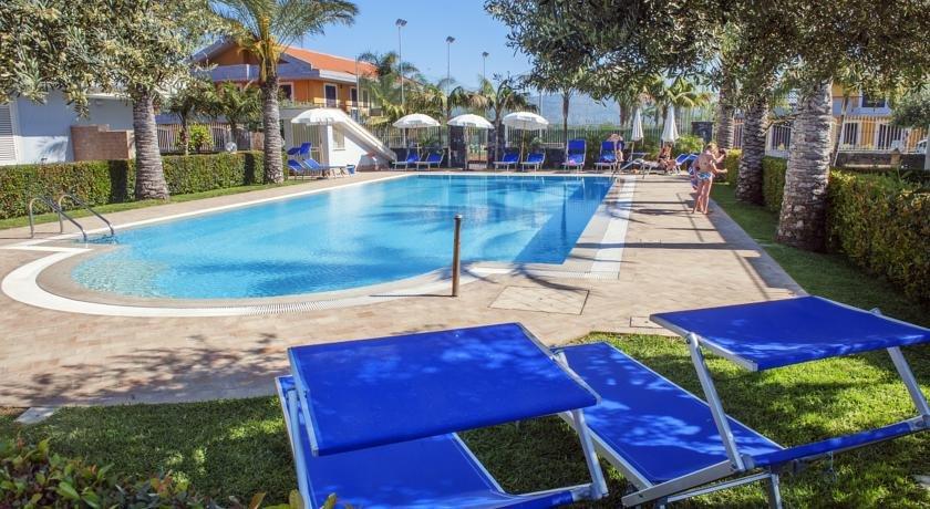 Appartementen Galati - zwembad