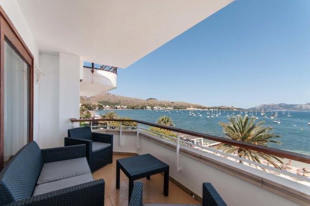 Appartement Formentor - balkon
