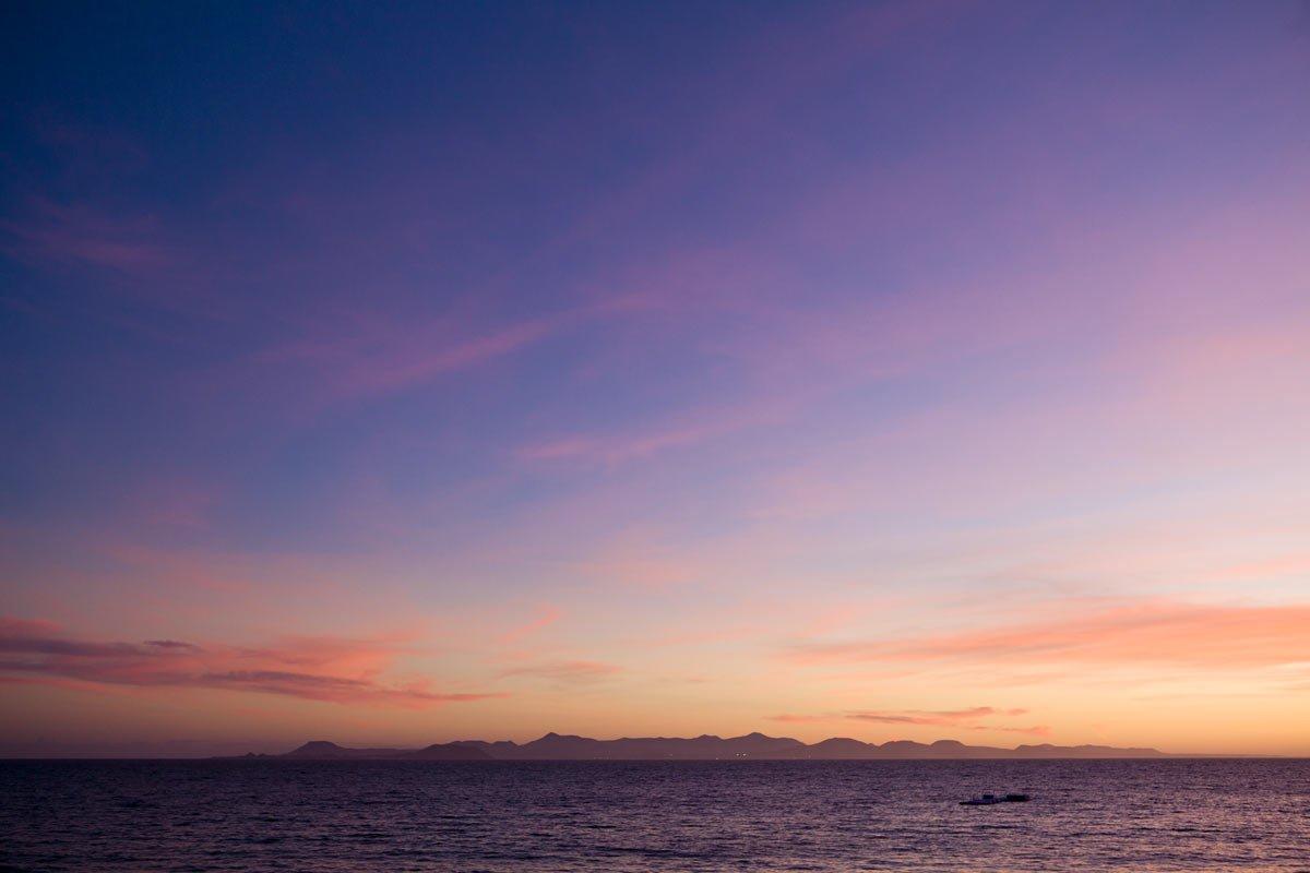 Appartementen Coloradamar - zonsondergang