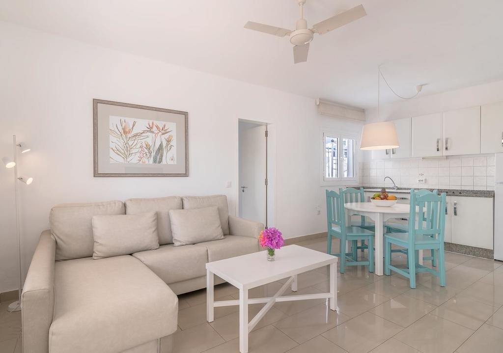 Appartementen Tropical - woonkamer