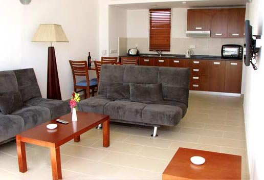 Appartement Sunset Bay - woonkamer