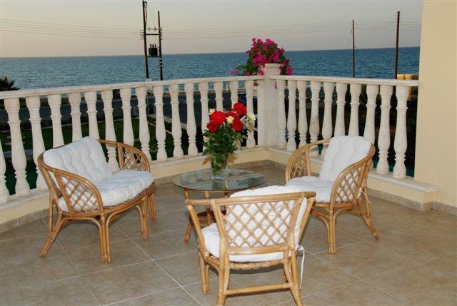 Villa Tsikos - balkon