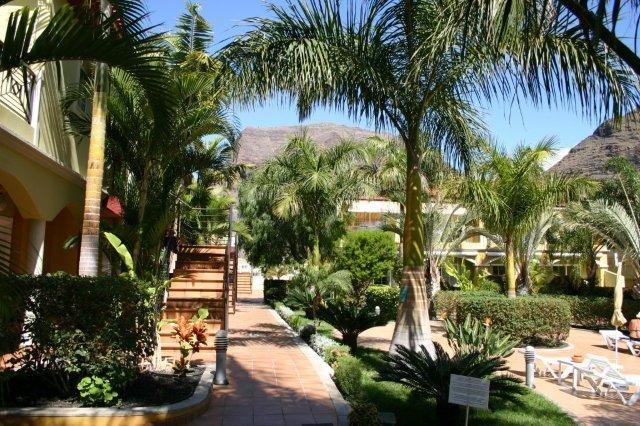 Appartementen El Llano - tuin
