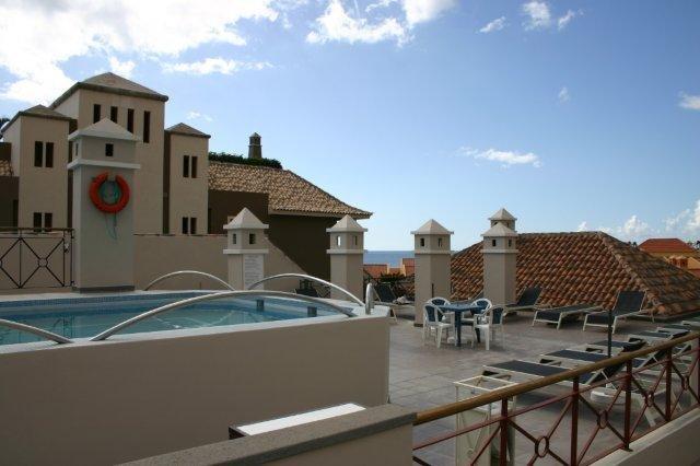 Appartementen Las Mozas - zwembad op dakterras