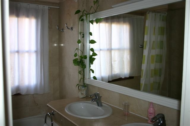 Appartementen La Roseta - badkamer