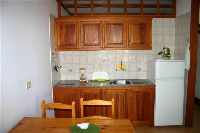 Appartementen La Roseta - keuken