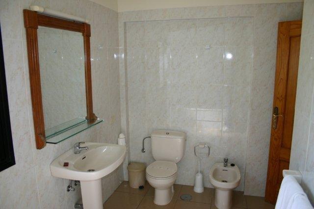 Appartementen Baia del Secreto - badkamer