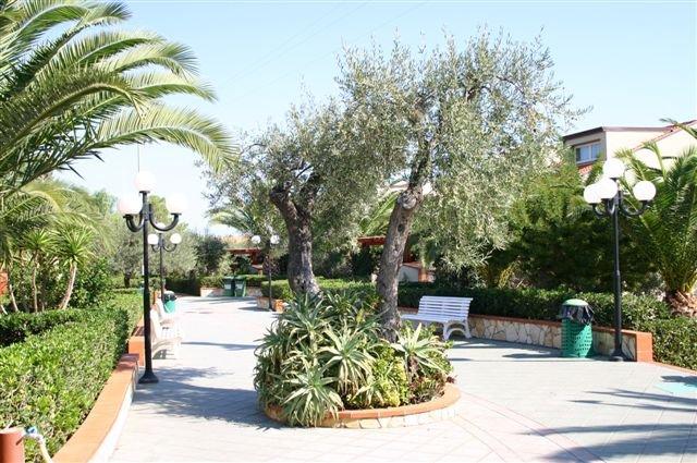 Appartementen Fontana Barone - tuin
