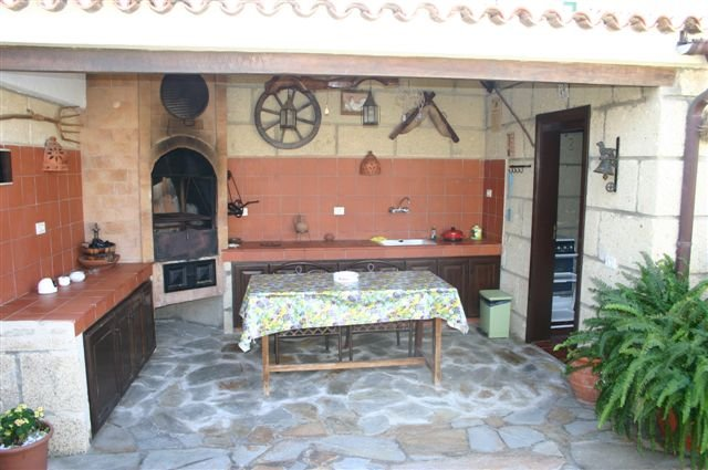 Casita El Cango - buitenkeuken