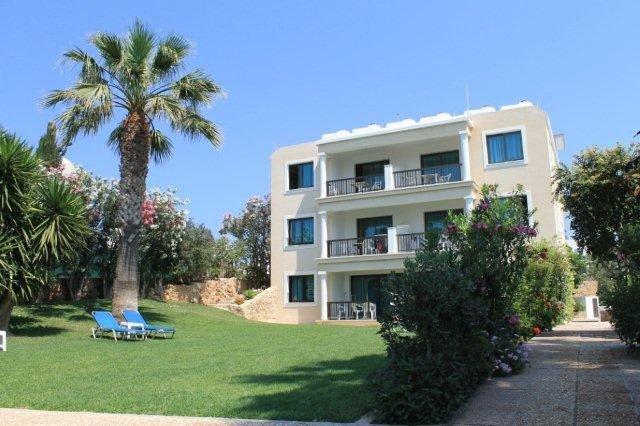 Appartementen Rododafni - tuin