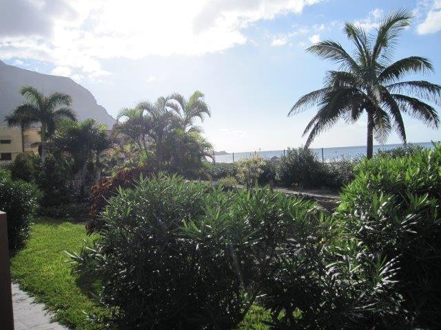 Appatementen Tarajales - tuin