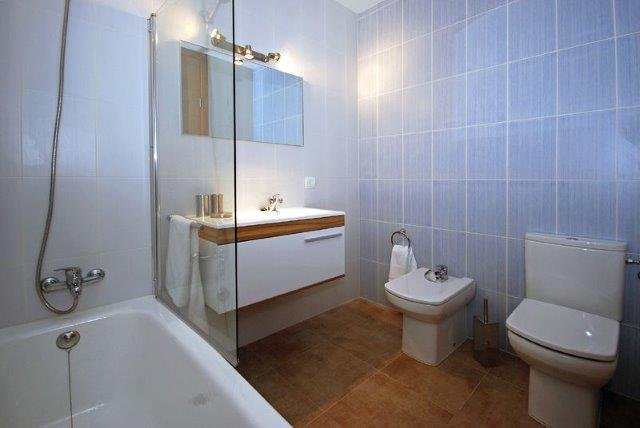 Appartementen Cala Molins - badkamer