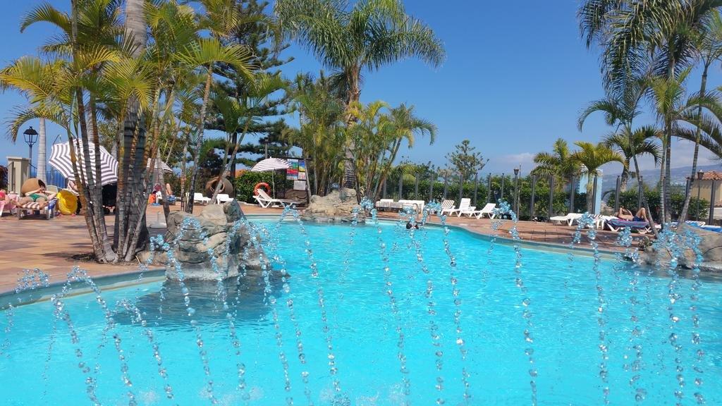 Appartementen Playa de los Roques - zwembad